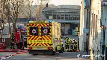 Schwerverletzter bei Brand in Annaberg-Buchholz - MDR