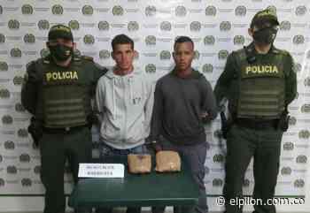 Capturados por tráfico de marihuana en Pelaya - ElPilón.com.co