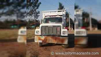 Recuperan camión con reporte de robo en Ciudad Hidalgo, Michoacán - Informa Oriente