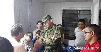Comerciante de 52 años fue liberado por presión militar en Pueblorrico - Telemedellín