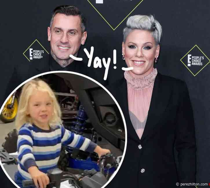 Pink's Son Jameson Looks Healthy & Happy 'Rocking Out' With Dad Carey Hart After Recovering From The Coronavirus!