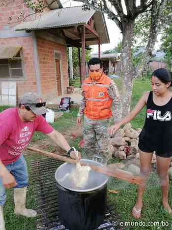 Defensa Civil coadyuva en olla común en Rurrenabaque - El Mundo (Bolivia)