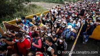 Venezolanos retornados varados en San Antonio del Táchira - Canal TRO