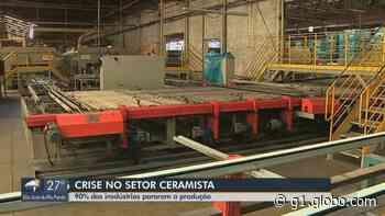 Coronavírus: 90% das indústrias de cerâmica paralisam a produção em Santa Gertrudes e região - G1