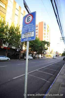 Lajeado suspende cobrança de estacionamento em área azul - Infomativo