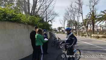 Avec pédagogie la police municipale de Saint-Cyprien veille au respect du confinement - L'Indépendant
