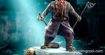 Lord of the Rings Gimli Gets New Statue From Iron Studios - Bleeding Cool News