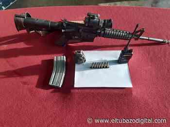 HAMPA NO JUEGA CARRITO / En Altagracia de Orituco los choros usan Fusil AR15 - El Tubazo Digital