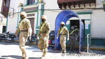 Punata: militarizan una zona para garantizar aislamiento de 16 personas - Opinión Bolivia