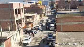 Vecinos de Punata denuncian que no se cumple la cuarentena, pese a restricción nacional. - Opinión Bolivia