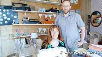 Isbergues: Les masques sont devenus le quotidien de Delphine et Philippe Lagache qui ont du pain sur la planche - La Voix du Nord