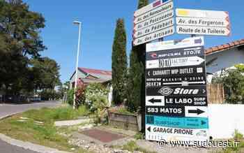 Confinement dans les Landes : pas de braderie à Hossegor, la zone Pédebert désespérément vide - Sud Ouest