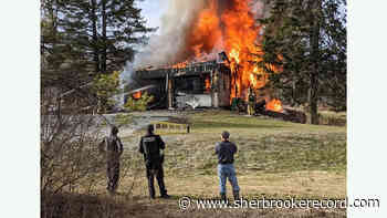 Garage fire in Lennoxville - Sherbrooke Record