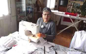 Confinement : à Saint-Chamas, elle fait des masques du matin jusqu'au soir - La Provence