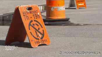 Westmount turns sidewalks into one-ways - CityNews Montreal