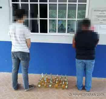 Aprehenden a dos hombres con 12 cajas de cervezas en Pocrí - La Prensa Panamá