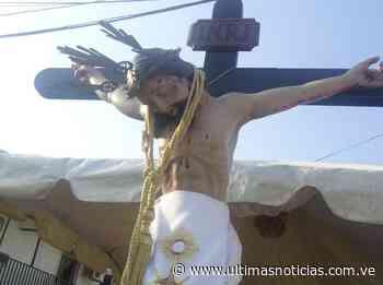 Inició Ruta de la Fe en Zaraza con el Cristo de Salud - Últimas Noticias