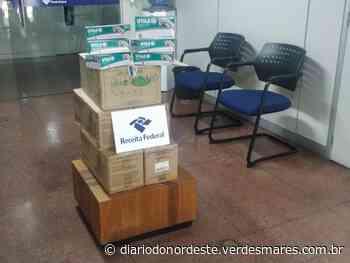Receita Federal doa luvas e máscaras apreendidas para hospital de Barbalha - Região - Diário - Diário do Nordeste