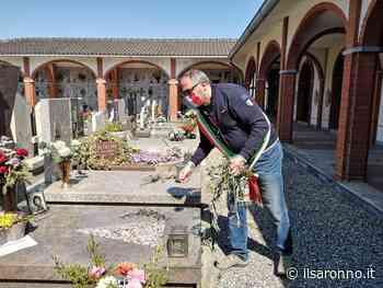 Coronavirus: i sindaci di Rovellasca e Lomazzo visitano il cimitero di Manera - ilSaronno