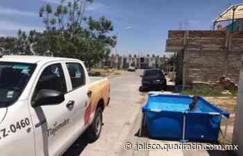 En Lomas del Mirador algunos no tienen agua y otros llenan albercas - Quadratín Michoacán