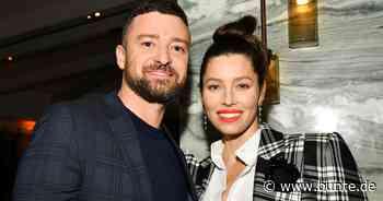 """Justin Timberlake & Jessica Biel: Kurioses Statement: """"24 Stunden am Tag Eltern sein ist unmenschlich"""" - BUNTE.de"""