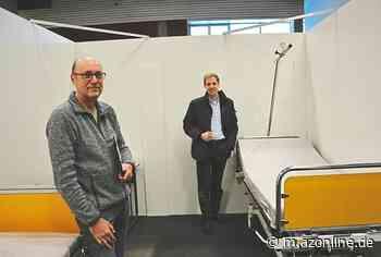 Zurück aus dem Ruhestand: Dr. Volker Günnewig aus Nottuln ärztlicher Leiter: Hilfskrankenhaus ist eingerichtet - Kreis Coesfeld - Allgemeine Zeitung