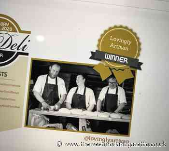 Lake District firm Lovingly Artisan named UK's 'Baker of the Year' for second year running - The Westmorland Gazette