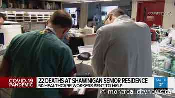 Fifty healthcare workers deployed to Shawinigan senior home - CityNews Montreal