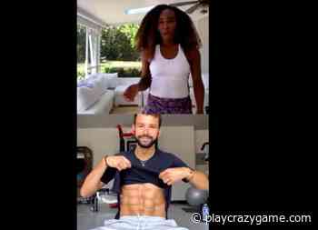 Grigor Dimitrov he shows off his abs to Venus Williams - Play Crazy Game