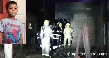 Muere niño calcinado al incendiarse su casa en Agua Prieta - Opinión Sonora