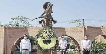 Recuerdan a Emiliano Zapata en Jojutla - Diario de Morelos