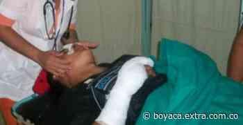 Imprudencia provocó accidente en Tibasosa | Boyacá - Extra Boyacá
