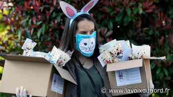 À Barlin, le lapin de Pâques est passé pour les enfants... en porte-à-porte - La Voix du Nord