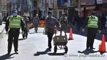 La Paz, El Alto y Patacamaya, los municipios con más casos de Covid-19 - Pagina Siete