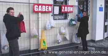 Hilfe in Corona-Zeiten: Gabenzäune für Bedürftige in Bad Neuenahr-Ahrweiler - General-Anzeiger