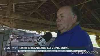 Furtos de propriedades rurais aumentam 20% em Descalvado   São Carlos e Araraquara - G1