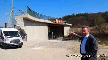 Die Mühltaler Bahnbrücke in Soyen ist fertig   Wasserburg - Oberbayerisches Volksblatt