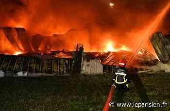 Croissy-Beaubourg : incendie dans un entrepôt de la zone industrielle - Le Parisien