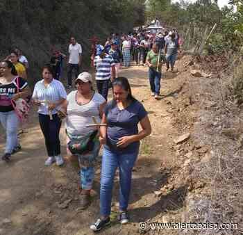 120 personas violaron la cuarentena para hacer el Viacrucis, en Liborina, Antioquia - Alerta Paisa