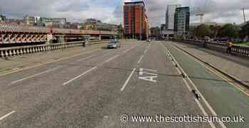 'Concerns for person' at River Clyde as Glasgow Bridge closed to traffic with cops on scene - The Scottish Sun