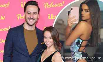 Dancing On Ice stars Alexander Demetriou and Carlotta Edwards 'take a break from their marriage'