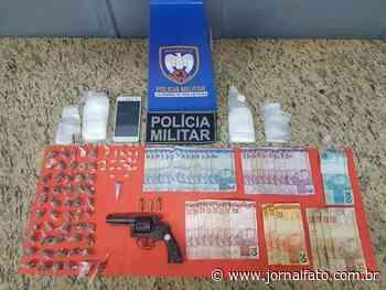 Três são detidos com drogas e arma em Mimoso do Sul - Jornal FATO