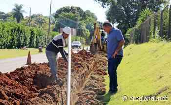 Ampliação de rede leva água encanada ao Pinhalzinho ainda esse mês em Holambra - O Regional