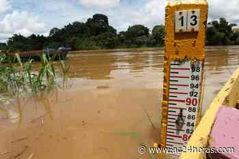 Maioria das estações medidoras mostram vazante nos rios do Acre - ac24horas