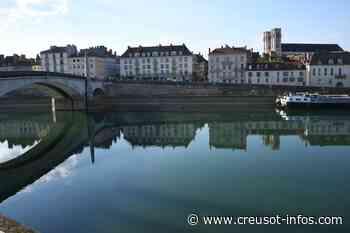 CHALON SUR SAONE : Quand la Saône devient aussi calme qu'un lac, c'est assez exceptionnel - Creusot-infos.com