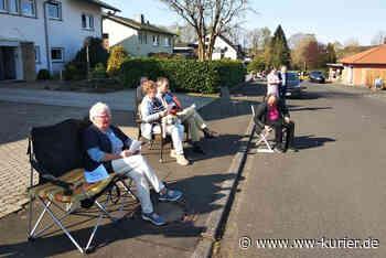Freiluftgottesdienst in der Lessingstraße von Hachenburg - WW-Kurier - Internetzeitung für den Westerwaldkreis