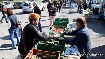 Coronavirus - Carcassonne : au rond-point de Bezons, la tradition de la vente directe boostée par le confineme - L'Indépendant