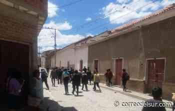 Dictan sentencia por atentado contra la salud pública en Tarabuco - Correo del Sur