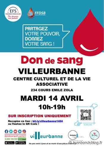 Donner son sang c'est sauver des vies - Lyon Bondy Blog