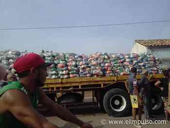 Protestan en Carora por llegada de bolsas Clap incompletas #13Abr - El Impulso